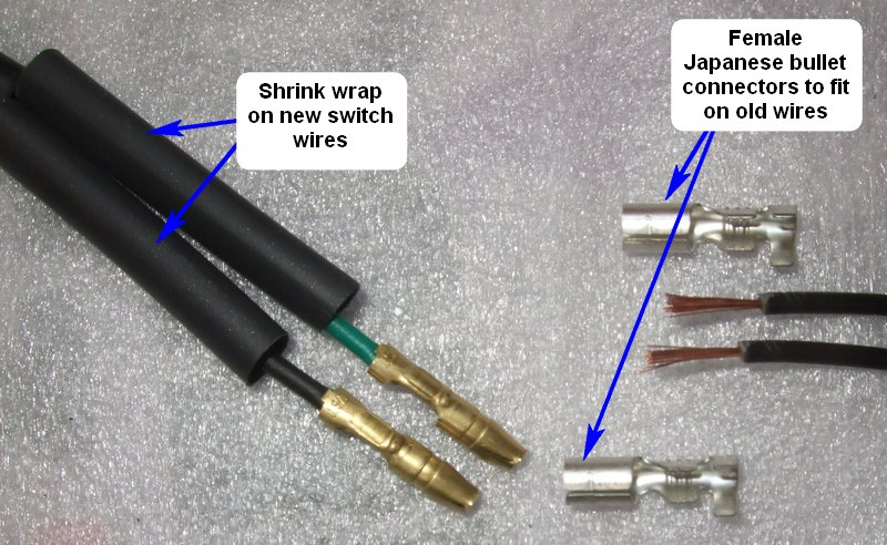 how to connect bullet connectors