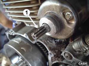 how to fix worn keyway on harley flywheel